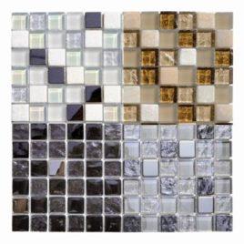 Serie Marble foglio 30 x 30 tessera 2,3 x 2,3