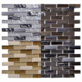 Serie Marble foglio 30 x 30 tessera 1,5 x 4,8