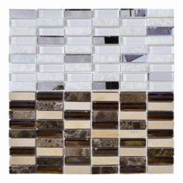 Mosaico foglio 30×30  tessera 1,5 x 4,8 novità