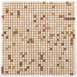 Serie Micro mosaico multicolor