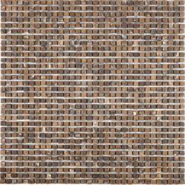 Serie Micro mosaico noce