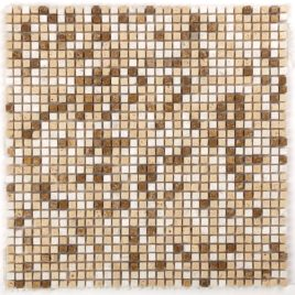 Serie Micro mosaico travertino